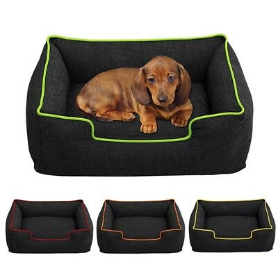 New Pet Nesting Bed Dog Sleep Cushion Cat Puppy Mat Pad Warm House Kennel Basket