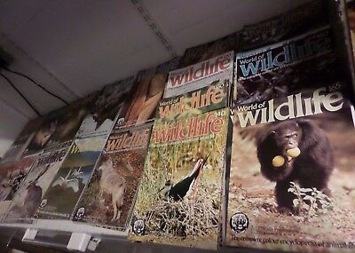 WORLD OF WILDLIFE AN ORBIS PUBLICATION - COMPLETE SET - LOOSE - 165 COPIES 1980s