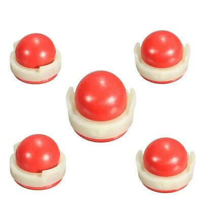 5 Pcs Red Carburetors Oil Primer Bulb Pump Cup For Briggs /Stratton 694394