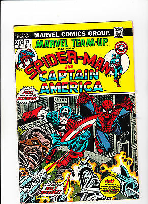 Marvel Team-Up #13 (Sep 1973, Marvel)