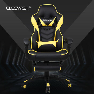 Executive Gaming Chair Racing Style Office Desk Seat Computer High Back Recliner