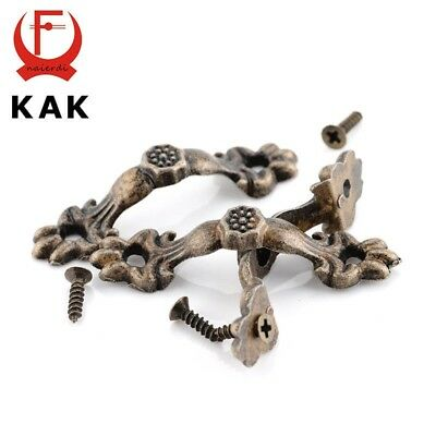 15pcs Box Handle 43*10MM Zinc Alloy Knobs Arch Tracery Bronze Tone For Drawer