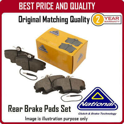 REAR BRAKE PADS  FOR OPEL VECTRA NP2020