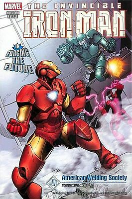 IRON MAN FORGING THE FUTURE1 RARE GIVEAWAY PROMO AWA WELDING 1st PRINT VARIANT