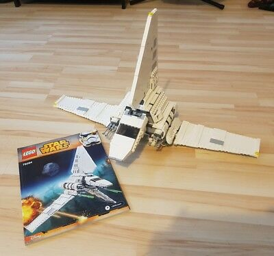 Star Wars Lego Imperial Shuttle Tyderium 75094 shuttle only no minifigs
