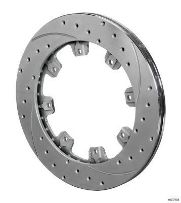 WILWOOD 12.188 in OD Directional/Drilled/Slotted SRP Brake Rotor P/N 160-7104