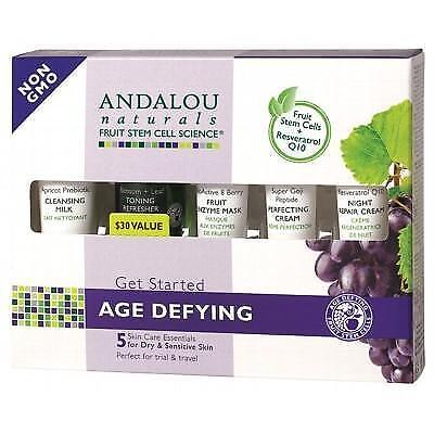 ANDALOU NATURALS 'Get Started' Trial & Travel Pack 5 Mini's