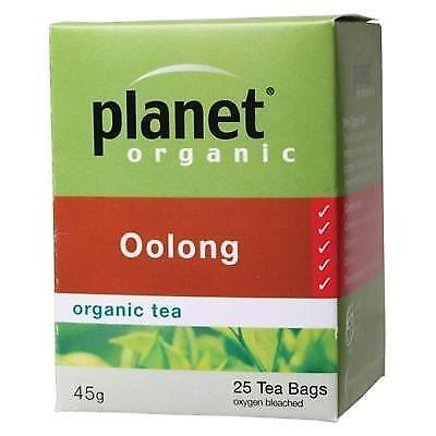 PLANET ORGANIC Oolong Herbal Tea Bags 25 pack