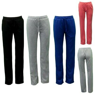 NEW Womens Ladies Soft lightweight Track Pants Casual Trackies Gym Sweats