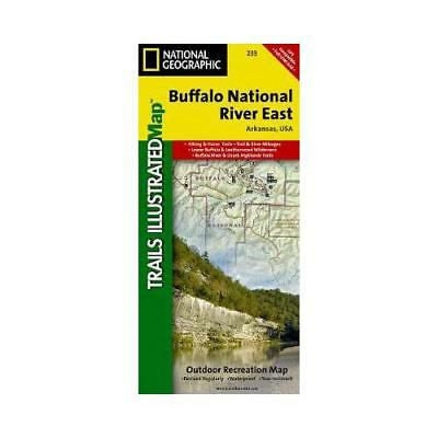 Buffalo National River East by National Geographic Maps