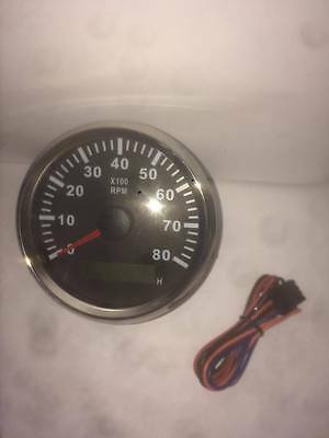Tachometer Universal for car, Motorcycle, Boat, Trucks, Boats & Plant