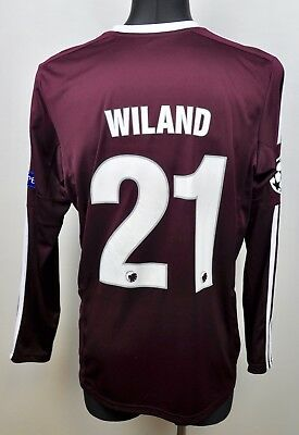 FC KOBENHAVN Goalkeeper WILAND #21 Shirt Jersey Player Issued 2013 Champions L