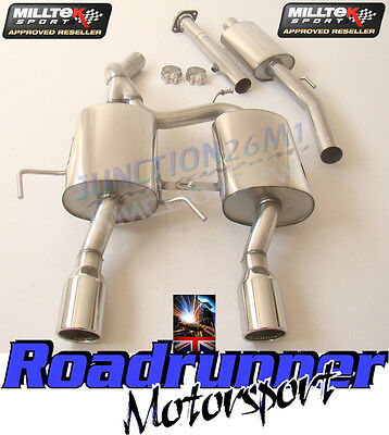 Milltek Exhaust Clio 182 Stainless Cat Back System Resonated & De Cat Pipe