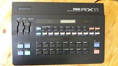 Yamaha RX11 80's Drum machine