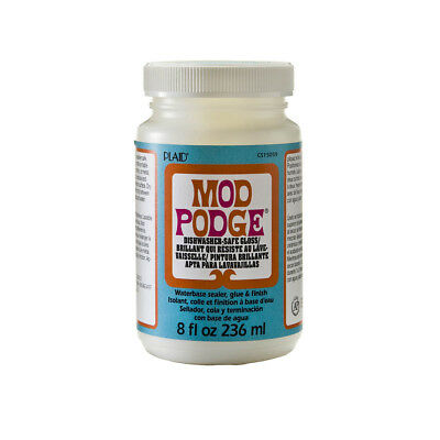 Mod Podge Dishwasher Safe Gloss Adhesive - 236ml - FAST 'N FREE Delivery