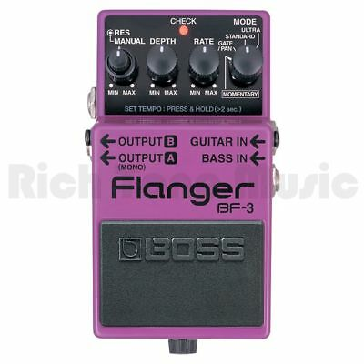 **DISPLAY**Boss BF-3 Flanger Effects Pedal