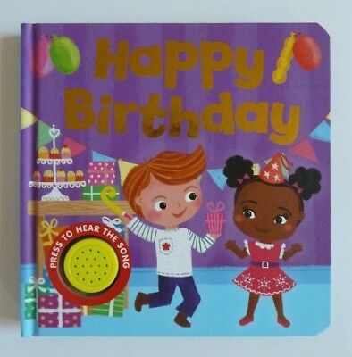 """Happy Birthday To You"", Song Sounds Book, baby Children Age 6 month+, New!!!"