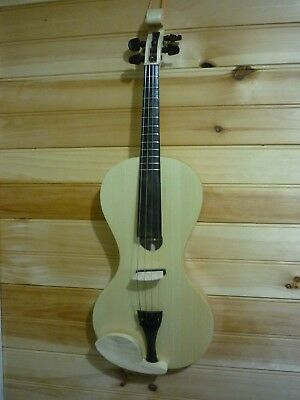 Acoustic,electric Violin With Frets,    (See Video Below)