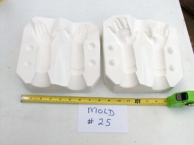The Ultimate Collection - Hilary's Hands 1987  Casting Mold Ceramic