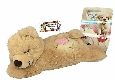 Comforter Puppy Dog Cat Kitten Calming Heat pad Warm Bear Plush Teddy Whelping