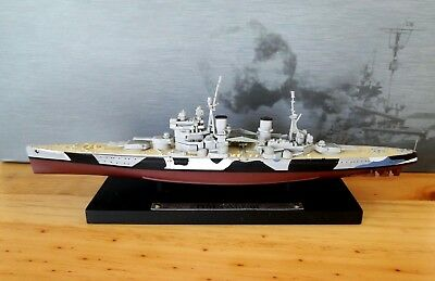 Atlas Editions 1:1250 Scale - Ref.no. Gm129 Hms Anson  Royal Navy