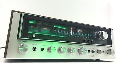 TOSHIBA SA-320L AM/FM Stereo MONSTER Receiver 30 Watts RMS Vintage 1977 Working