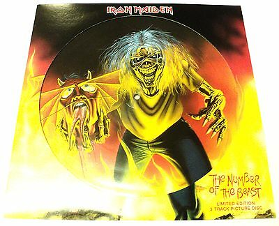 Iron Maiden The Number Of The Beast Unplayed Picture Disc 12 Inch 2005 Vinyl