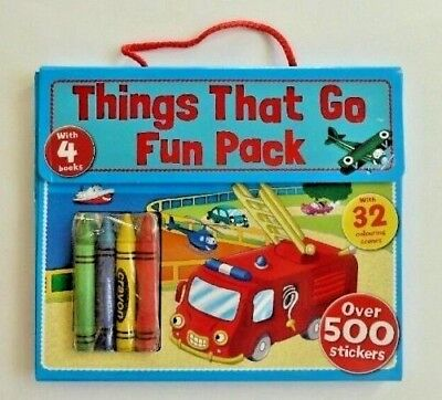 My First Sticker Scenes Activity Wallet with 4books 200 Stickers, Kids Age 3+ Yr