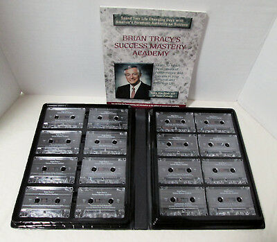 Brian Tracy's Success Mastery Academy, 16 Audiotapes + 88-page Workbook