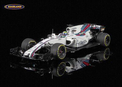 Williams FW40 Mercedes Martini Racing F1 2017 Felipe Massa, Minichamps 1:43, NEW