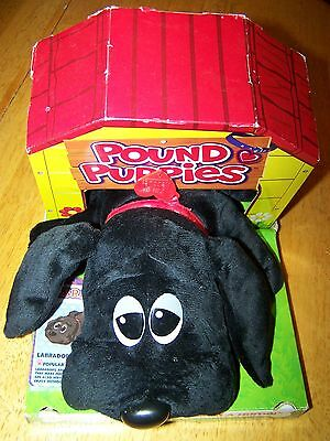Pound Puppies Labrador Black new in house (box) 2014