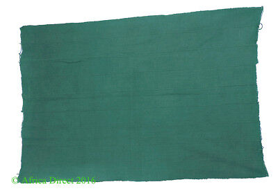 Dogon Textile Handwoven Dyed Green African Art