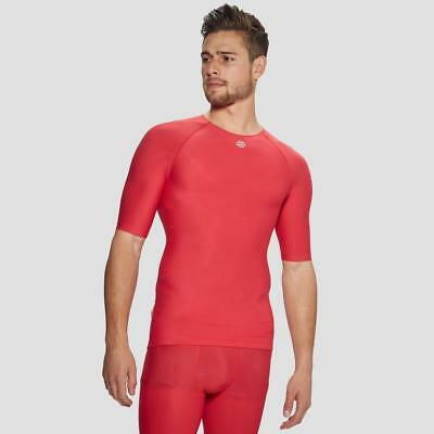 New Skins Dnamic Team Sh Slv Top Sports Compression Clothing Natural