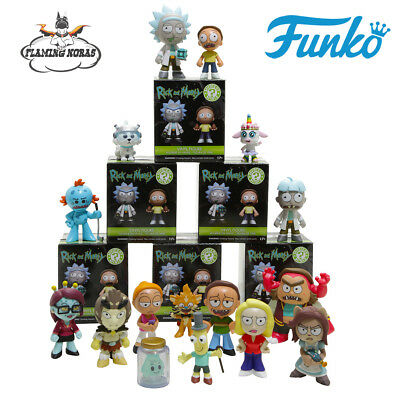 New RICK AND MORTY Mystery Mini Pop! Blind Boxes from FUNKO - UK Authorised