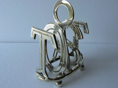 Silver Plated Novelty Toast Rack