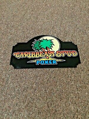 Casino Table Game Sign ( Caribbean Stud )
