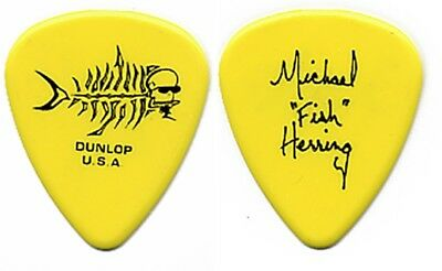 "Christina Aguilera Michael ""Fish"" Herring authentic 2003 tour band Guitar Pick"