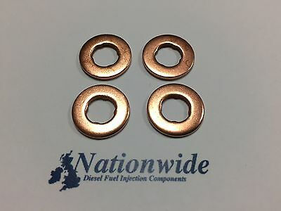 Vauxhall Combo 1.3 CDTi Common Rail Diesel Injector Washers/Seals x 4