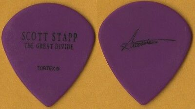 Scott Stapp Artie Rincon 2006 Great Divide tour signature band Guitar Pick CREED