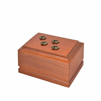 Wooden Pet cremation urns for cat or dog ashes.Unique Memorial Urn for Pets(ZD9)