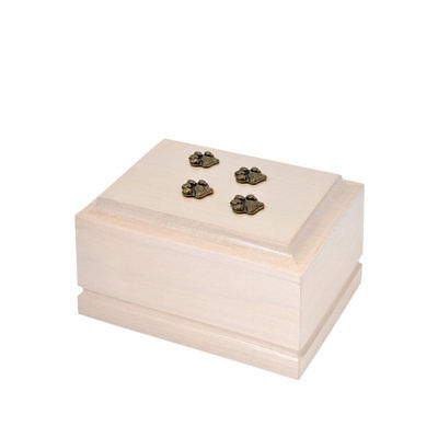 Wooden Pet cremation urns for cat or dog ashes.Unique Memorial Urn for Pets(ZD8)