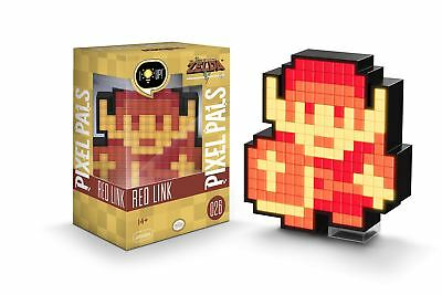 PDP Pixel Pals The Legend of Zelda: Red Link - Nintendo Light-Up Display 026 NEW