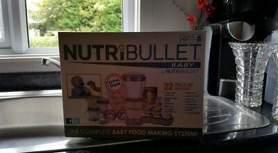 Nutribullet baby food mixer. Barely used.