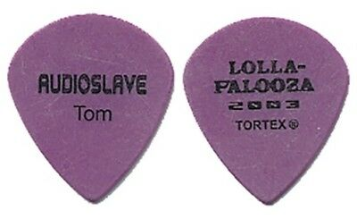 Audioslave Tom Morello 2003 Lollapalooza Guitar Pick Rage Against the Machine