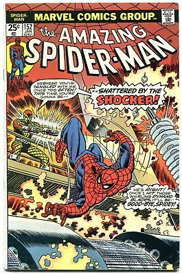 AMAZING SPIDER-MAN #152 1976-comic book-SHOCKER-DR OCTOPUS Marvel