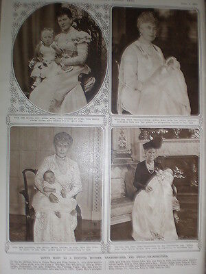 Photo article The Late Queen Mary Mother Grandmother Great-Grandmother1953
