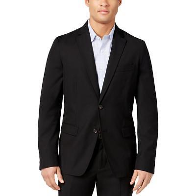 American Rag 8489 Mens Lined Non-Vented Solid Two-Button Blazer Sportcoat BHFO