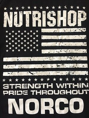 NUTRISHOP NORCO California Vitamins.Sport Nutrition.Weight Loss Muscle Tank M