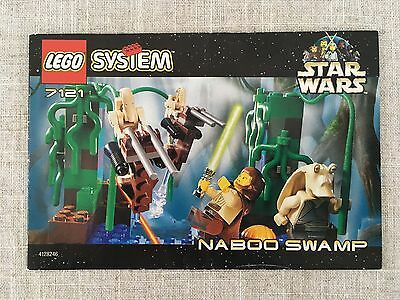 LEGO Star Wars 7121 Naboo Swamp *Instructions/Manual Only* (New)