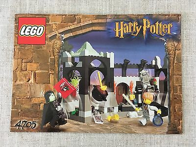 LEGO Harry Potter 4705 Snape's Classroom *Instructions/Manual Only* (New)